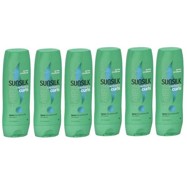Sunsilk Captivating Curls De-frizz Conditioner (Pack of 6)