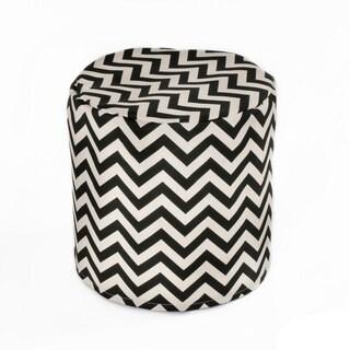 Handmade Indoor/ Outdoor 17-inch Beanbag Cylinder