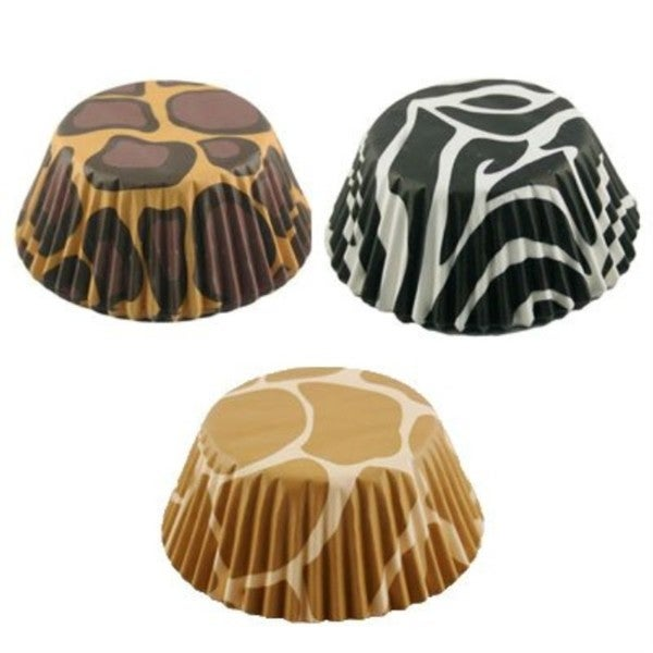 Fox Run Brands Animal Print Baking Cup Papers