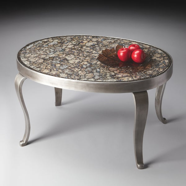Modern Expressions Oval Cocktail Table