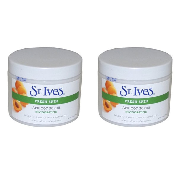 St. Ives Fresh Skin 10-ounce Invigorating Apricot Scrub (Pack of 2)