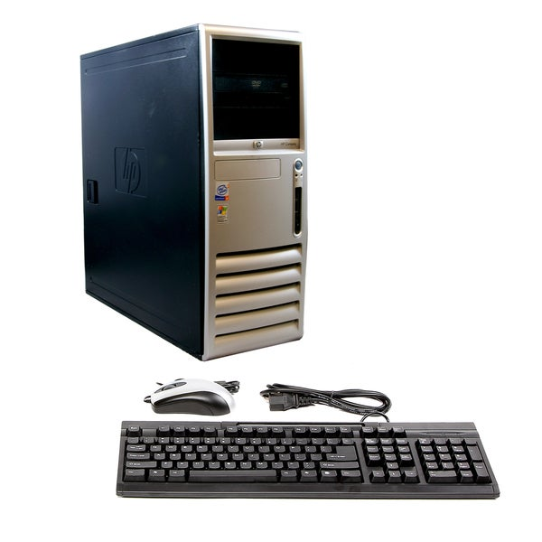 HP DC7600 2.8GHz 160GB MT Computer (Refurbished)