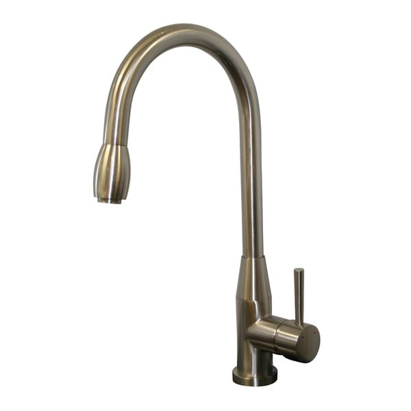 Piazza Brushed Nickel Pull Down Kitchen Faucet