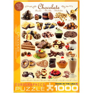 Chocolate 1000-piece Jigsaw Puzzle (19.25x26.5)