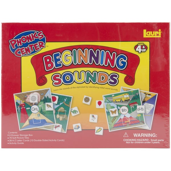 Patch Products Beginning Sounds Phonics Center