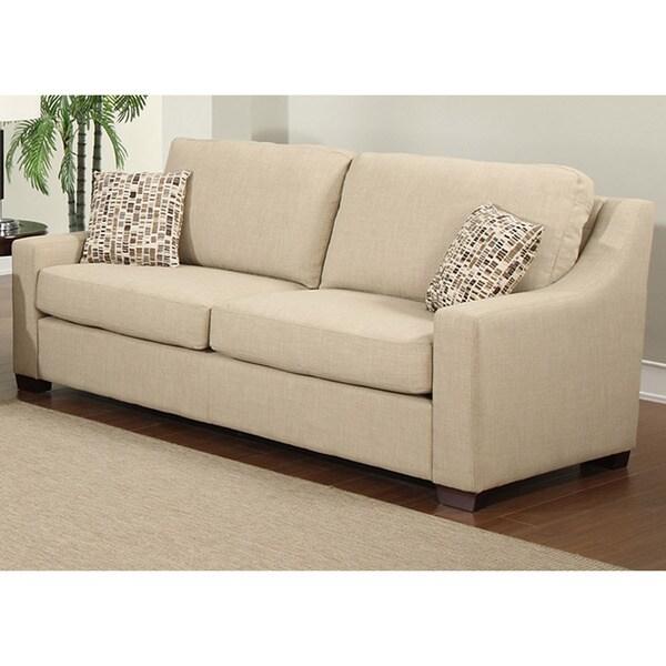Kaitlyn Toast Polyester Sofa