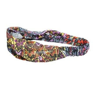 Cotton Jungle Print Headband (Nepal)