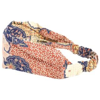 Handmade Batik Print Indo Headband (Indonesia)