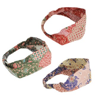 Batik Print Indo Headband (Indonesia)