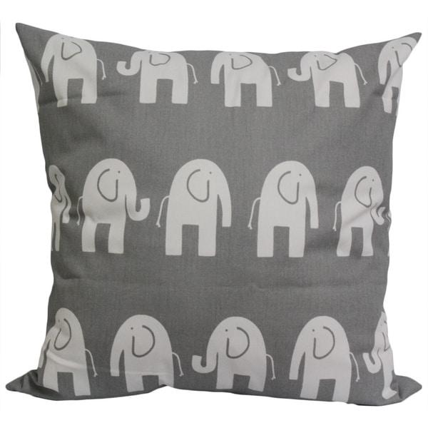 Taylor Marie Nursery Grey Elephants Cushion Cover