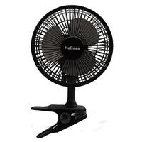 Holmes Black 6-inch Clip Table Fan
