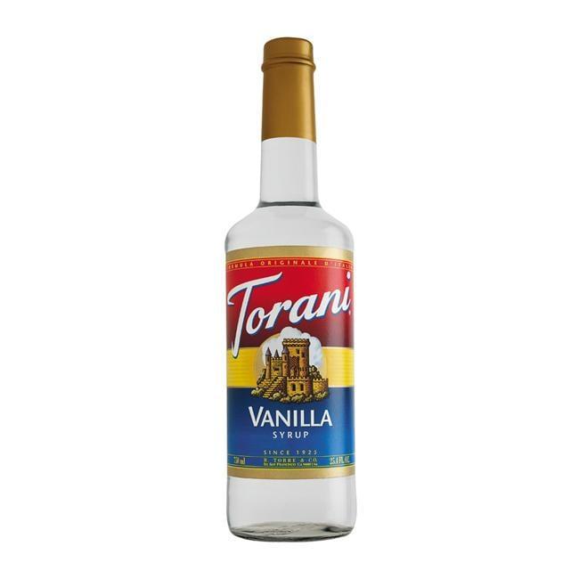 Torani PET Vanilla Syrup (Pack of 6)