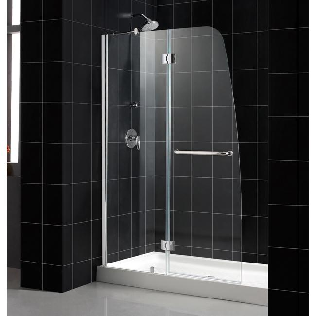dreamline 48 x 72 aqua shower door with 30 x 60 amazon shower base