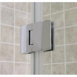 dreamline 48 x 72 aqua shower door with 30 x 60 amazon shower base thumbnail