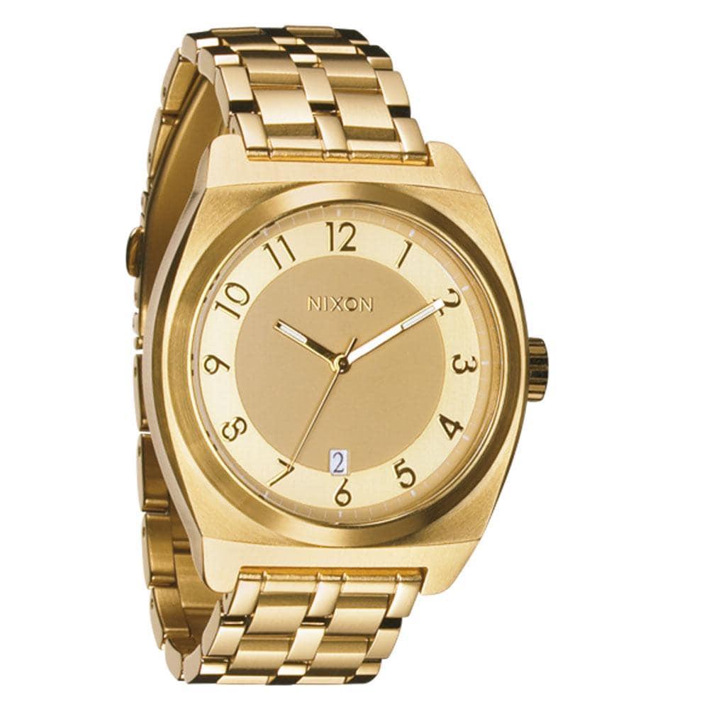 Nixon Men's A325502-00 Monopoly Gold-tone Quartz Stainless Steel Watch