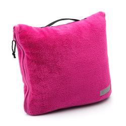 Columbia Coral Fleece Throw and Pillow Combination - Thumbnail 2