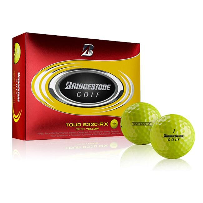 Bridgestone Tour B330-RX Yellow Golf Ball (Case of 24)