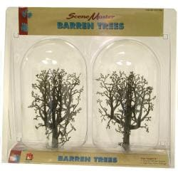 HO Scale 6-inch Barren Trees (Pack of 2) - Thumbnail 0