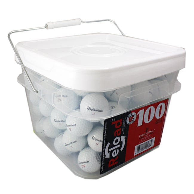 TaylorMade Penta Golf Balls (Pack of 100) (Refurbished)
