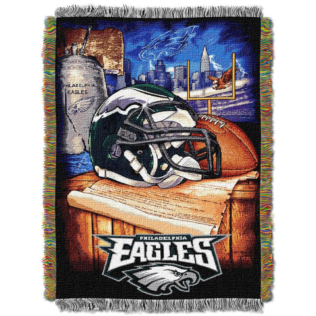 Northwest Philadelphia Eagles Woven Jacquard Acrylic Blanket