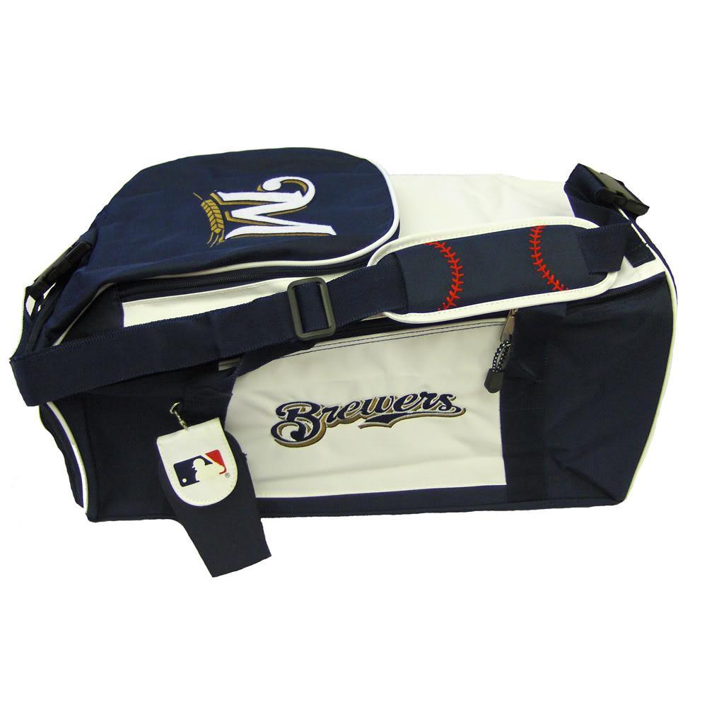 Milwaukee Brewers MLB 20-inch Duffel Bag