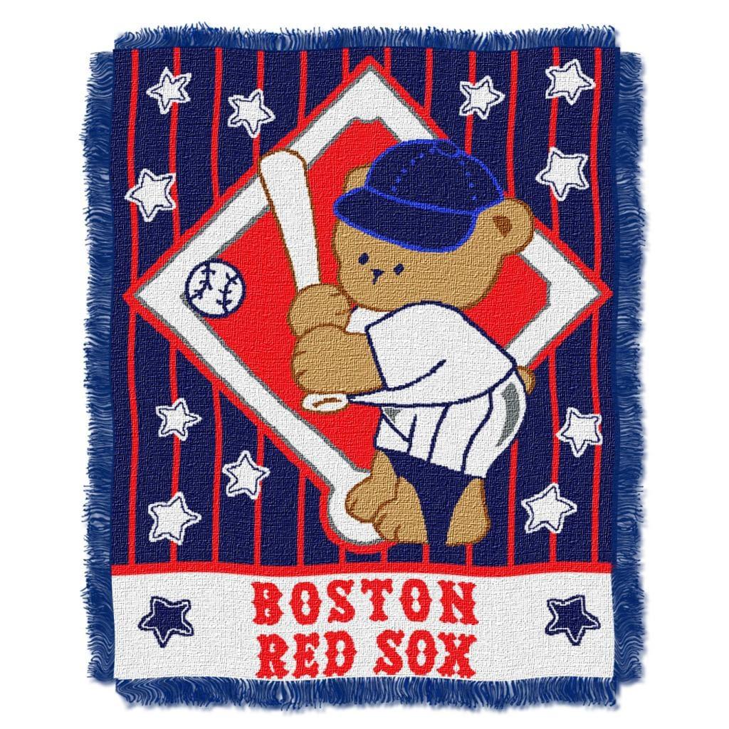 Northwest Boston Red Sox Woven Jacquard Acrylic Blanket