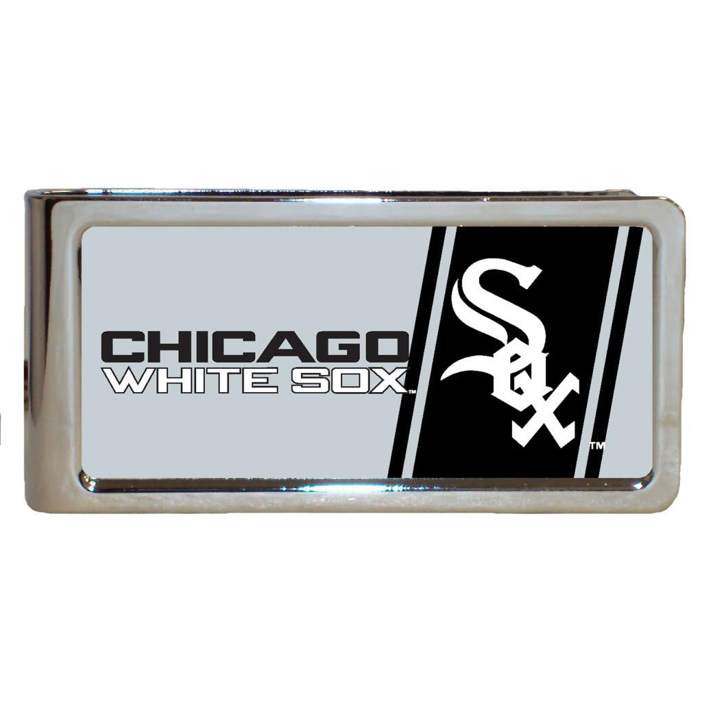 Chicago White Sox Stainless Steel Money Clip
