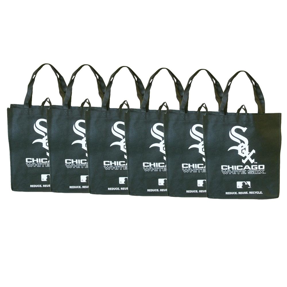 Chicago White Sox Reusable Bags (Pack of 6) - Thumbnail 0