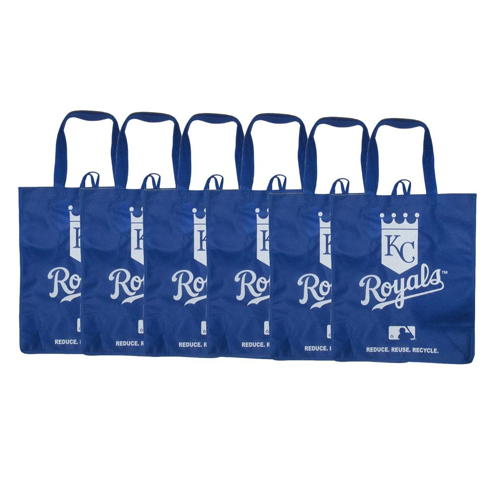 Kansas City Royals Reusable Bags (Pack of 6)
