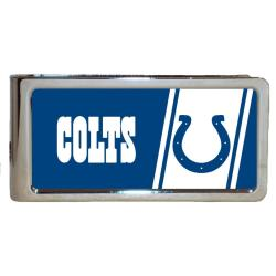 Indianapolis Colts Stainless Steel Money Clip