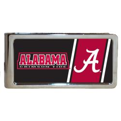 Alabama Crimson Tide Stainless Steel Money Clip - Thumbnail 0