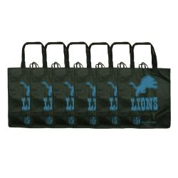 Detroit Lions Reusable Bags (Pack of 6)