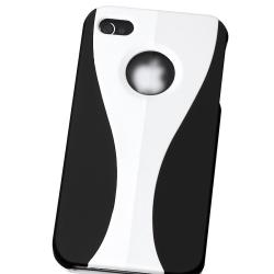 Rubber Coated Case for Apple iPhone 4 - Thumbnail 2