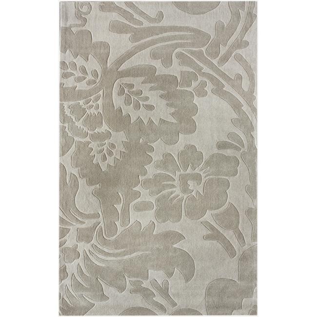 nuLOOM Handmade Deco Floral Rug (7'6 x 9'6)