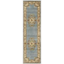 Nourison Chateau Blue Rug (2'3 x 8')