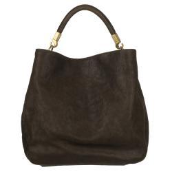 Yves Saint Laurent 'Roady Ranch' Brown Leather Hobo Bag - Thumbnail 0