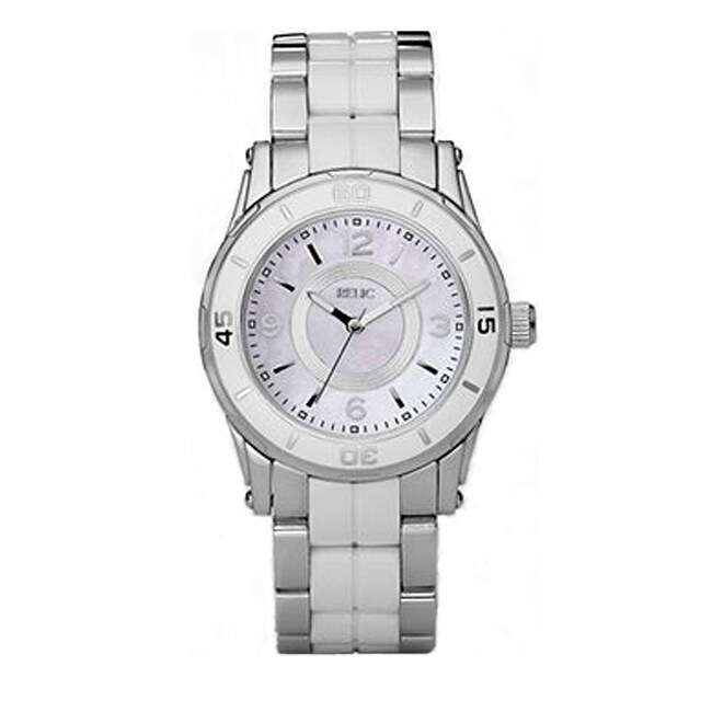 Relic Women's 'Hannah' Resin and Stainless Steel Watch