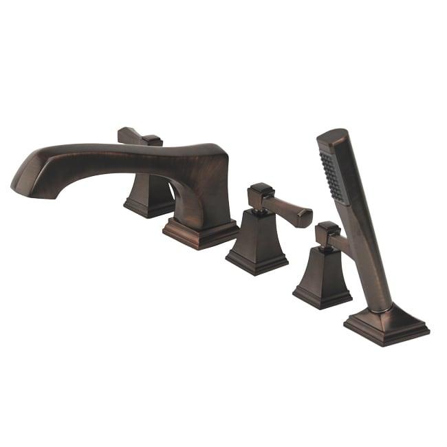 Fontaine Patiglia Brushed Bronze Roman Tub Faucet