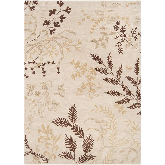 Hand-tufted Grove Wool Rug (5' x 8')