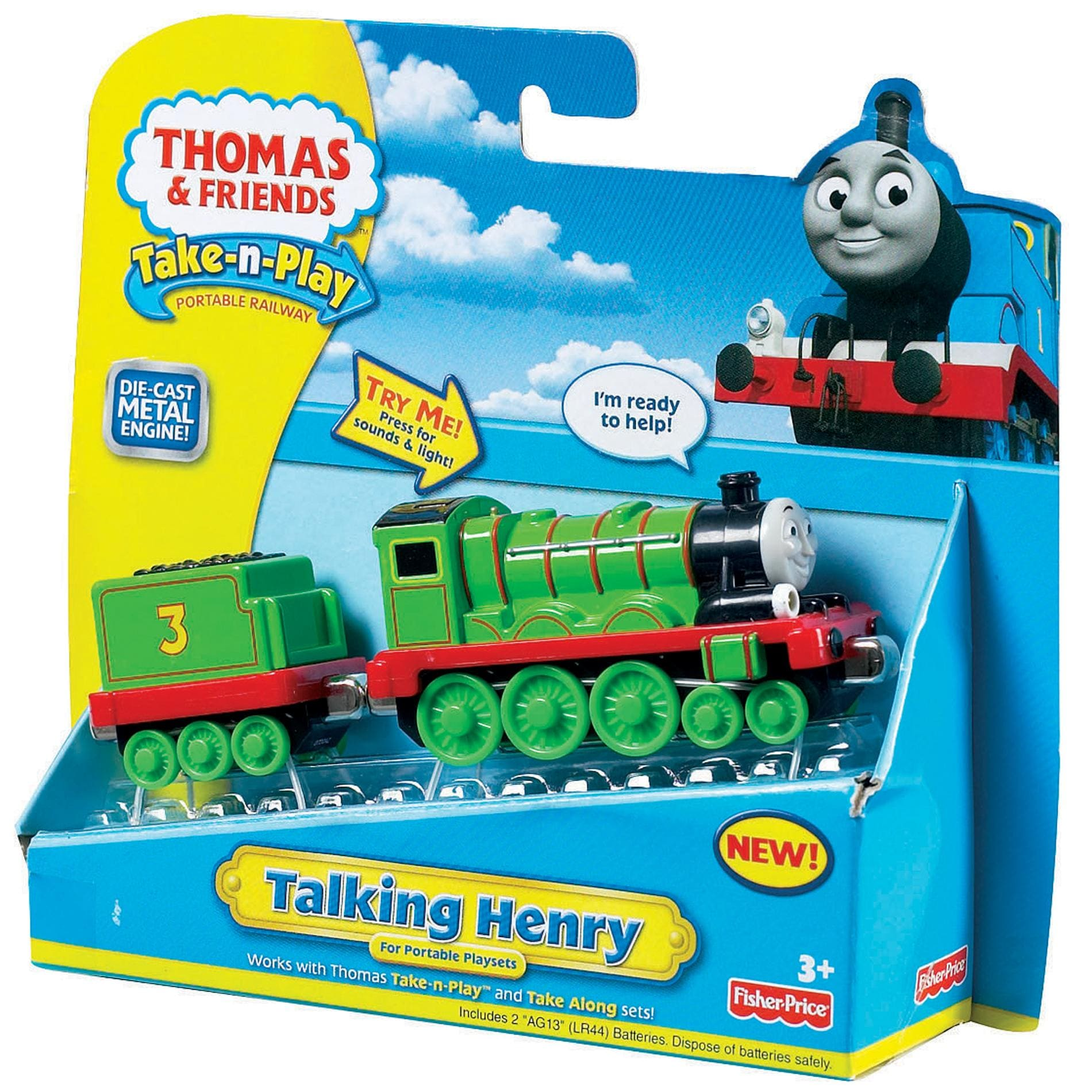 Kidkraft Super Highway Train Set And Table Fisher Price Thomas and Friends Large 'Talking Henry' Toy Train Engine ...
