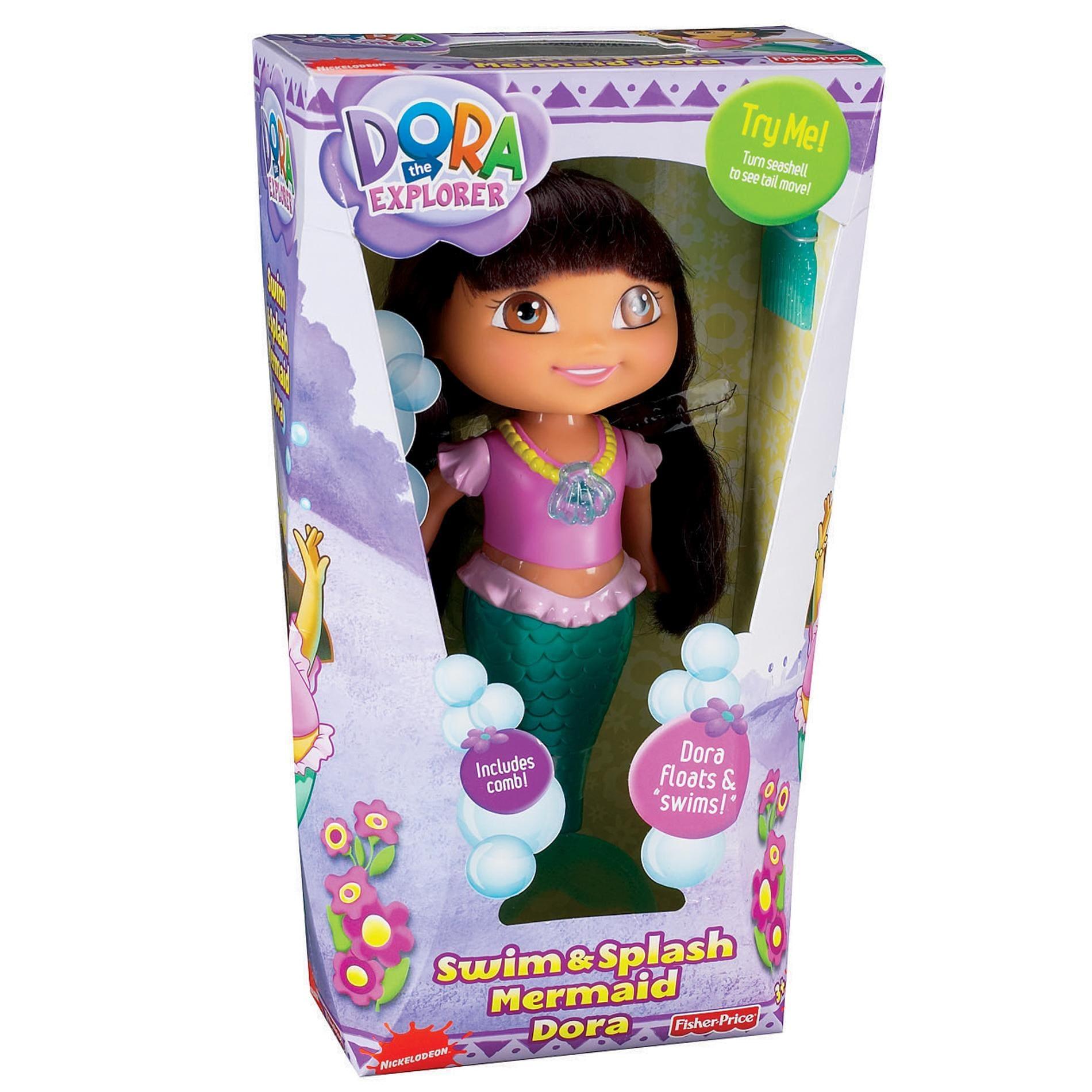 Fisher Price Dora the Explorer Swim and Splash Mermaid