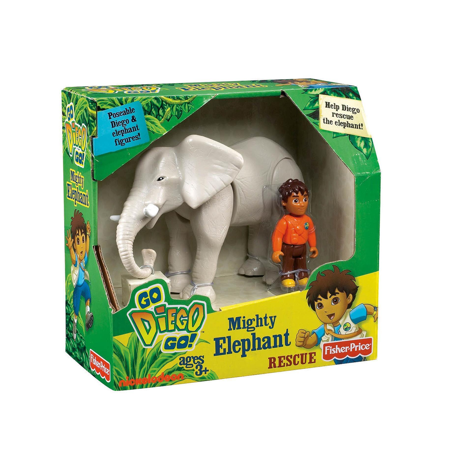 Fisher Price Go Diego Go Mighty Elephant Rescue Free