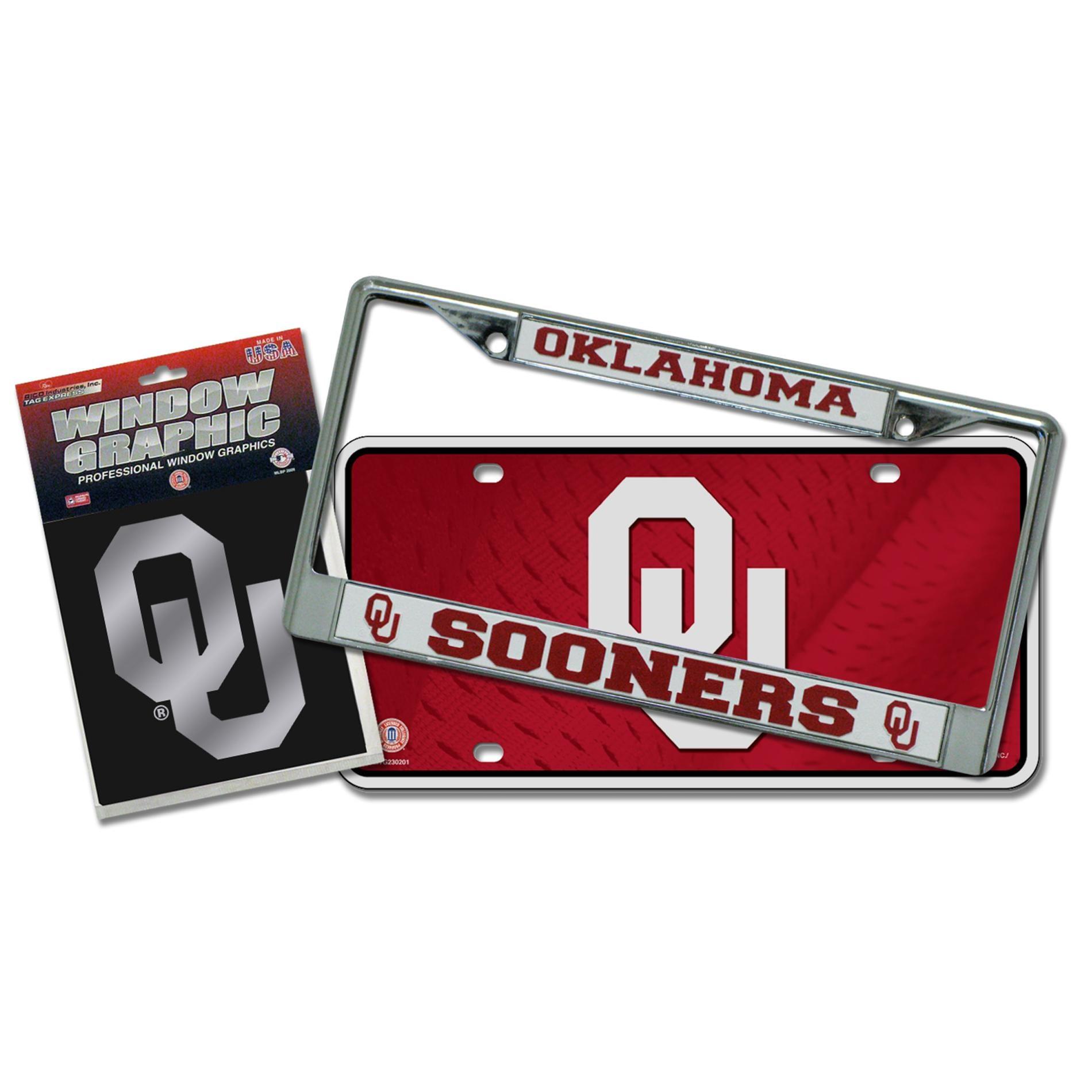 Oklahoma Sooners Automotvie Detail Pack
