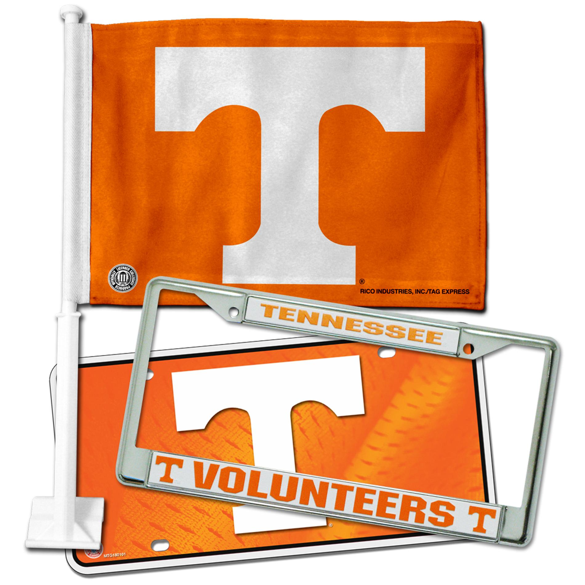 Tennessee Volunteers Automotive Fan Pack