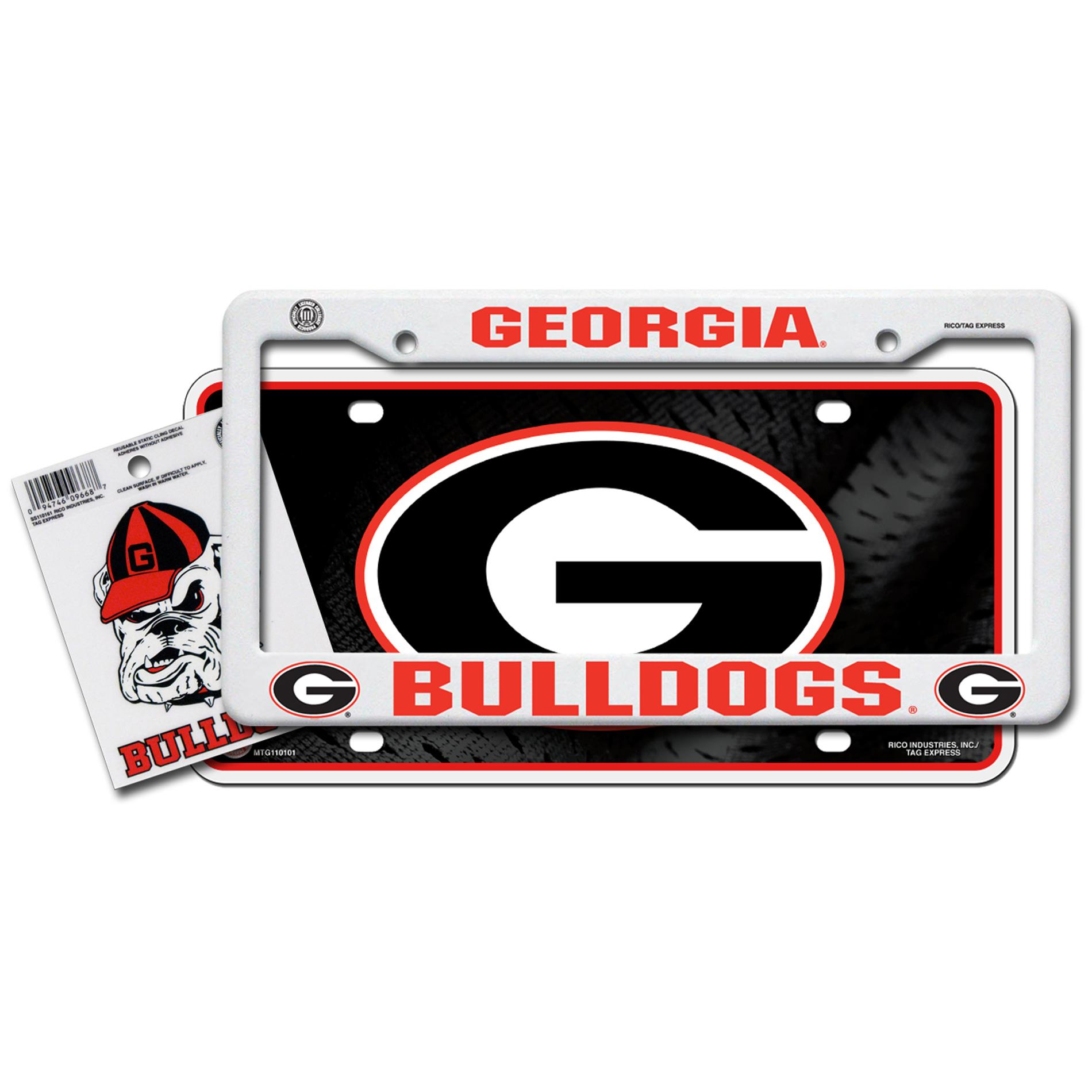 Georgia Bulldogs Automotive Value Pack