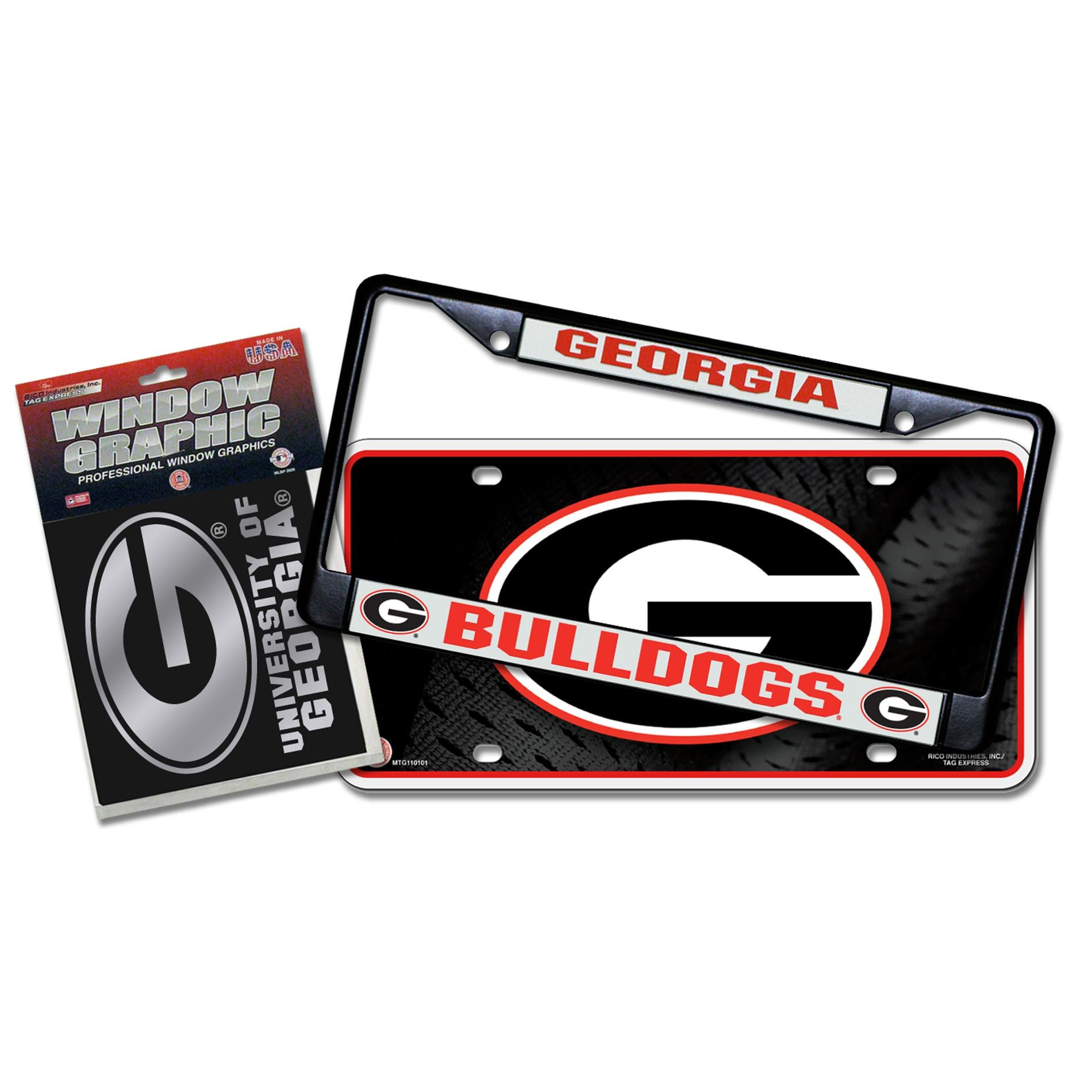 Georgia Bulldogs Automotvie Detail Pack