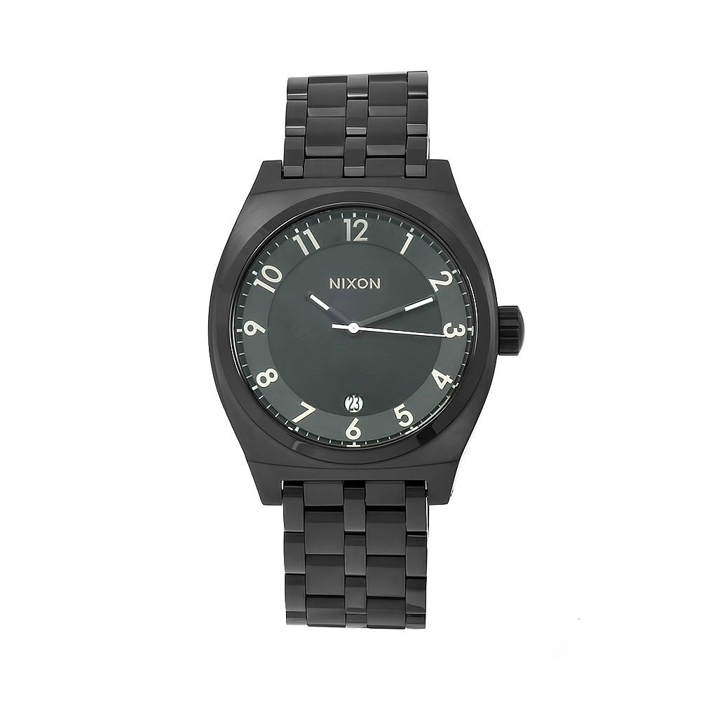 Nixon Men's Black Monopoly Watch