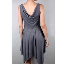 Tabeez Women's Empire Waist Pleated Dress