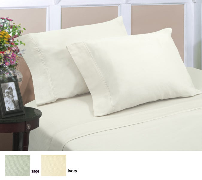 Cotton Sateen 230 Thread Count Sheet Set