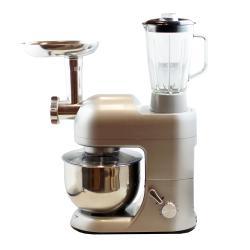 Dr. Tech SM1086 Silver 5-liter 3-in-1 Stand Mixer/ Grinder/ Blender